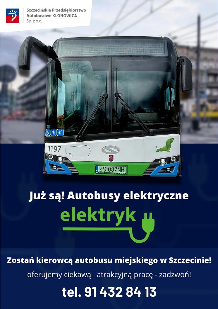 Praca kierowca autobusu Szczecin